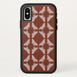 Capa Para iPhone X Artes de cobre e borboletas dos artesanatos