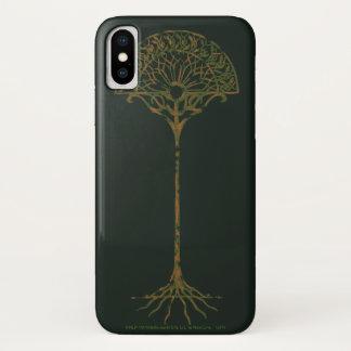 Capa Para iPhone X Árvore branca de Númenor