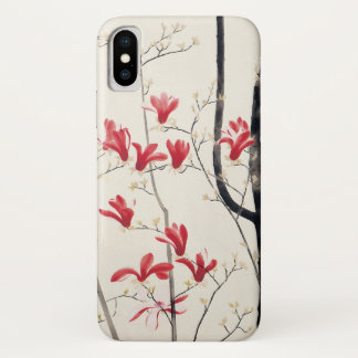 Capa Para iPhone X Árvore da magnólia por Kobayashi Kokei, natureza