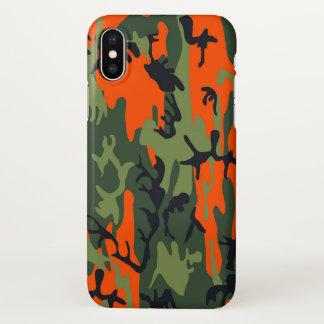 Capa Para iPhone X As forças armadas camuflam o impressão do como do