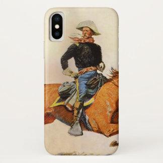 Capa Para iPhone X As forças armadas do vintage, uma cavalaria