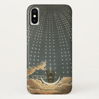 Capa Para iPhone X Astronomia celestial do vintage, rainha da noite
