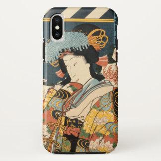 Capa Para iPhone X Ator japonês (#2) (impressão do japonês do