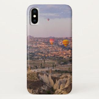 Capa Para iPhone X Balões de ar quente sobre Cappadocia