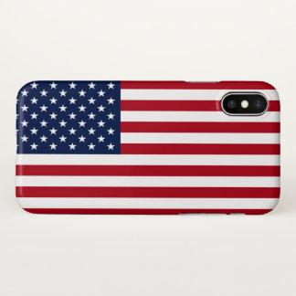 Capa Para iPhone X Bandeira americana