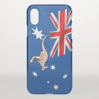 Capa Para iPhone X Bandeira australiana