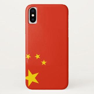 Capa Para iPhone X Bandeira de China