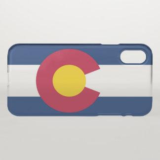 Capa Para iPhone X Bandeira de Colorado
