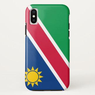 Capa Para iPhone X Bandeira de Namíbia