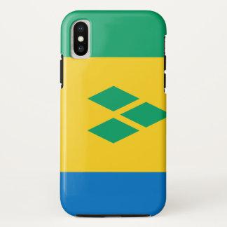 Capa Para iPhone X Bandeira de São Vicente e Granadinas
