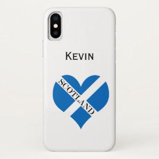 Capa Para iPhone X Bandeira de Scotland ou de Saltire