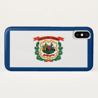 Capa Para iPhone X Bandeira do estado de West Virginia