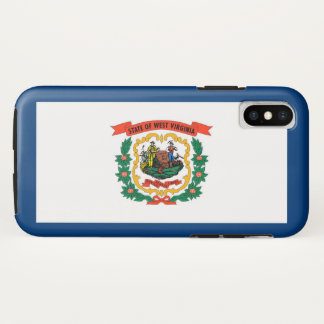 Capa Para iPhone X Bandeira do estado de West Virginia