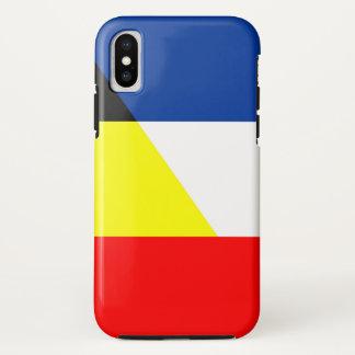 Capa Para iPhone X bandeira do símbolo do país da bandeira de france