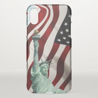 Capa Para iPhone X Bandeira dos Estados Unidos