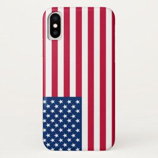 Capa Para iPhone X Bandeira EUA americanos de América