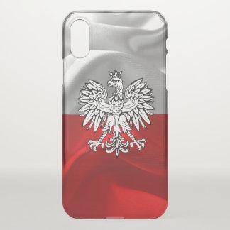 Capa Para iPhone X Bandeira polonesa