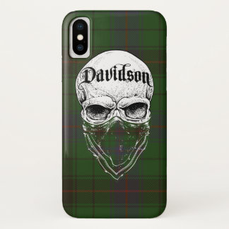 Capa Para iPhone X Bandido do Tartan de Davidson