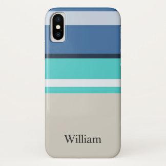 Capa Para iPhone X Bares da praia