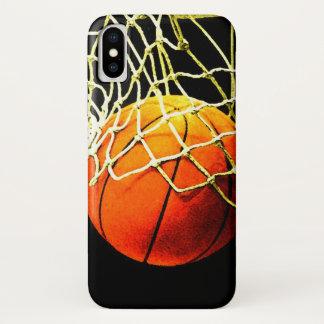 Capa Para iPhone X Basquetebol