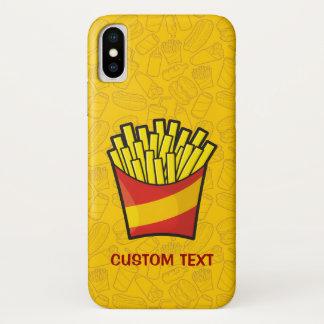 Capa Para iPhone X Batatas fritas
