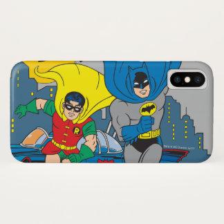 Capa Para iPhone X Batman e corredor do pisco de peito vermelho