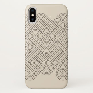 Capa Para iPhone X Beira abstrata
