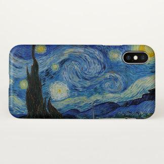 Capa Para iPhone X Belas artes de GalleryHD da noite estrelado de