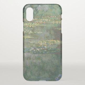 Capa Para iPhone X Belas artes GalleryHD da lagoa do lírio de água de