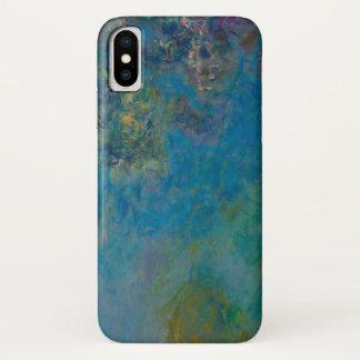 Capa Para iPhone X Belas artes GalleryHD floral das glicínias de