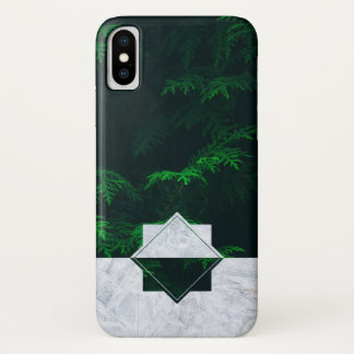 Capa Para iPhone X Blizzard da floresta