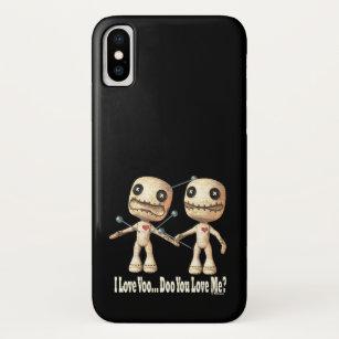 Capa Para iPhone X Bonecas do VooDoo