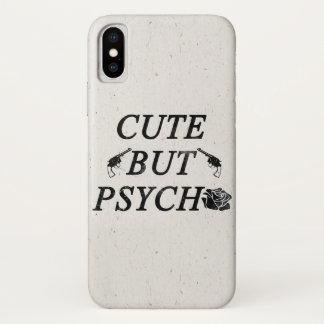 Capa Para iPhone X Bonito mas psicótico
