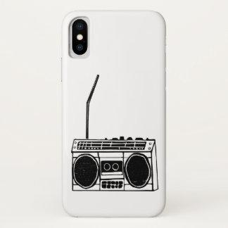 Capa Para iPhone X Boombox