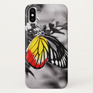 Capa Para iPhone X Borboleta bonita