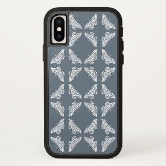 Capa Para iPhone X Borboletas azuis das artes e dos artesanatos de
