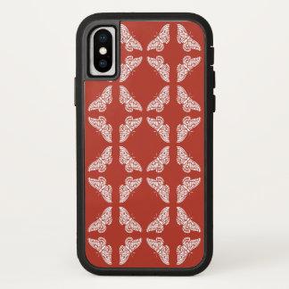 Capa Para iPhone X Borboletas das artes e dos artesanatos do tijolo