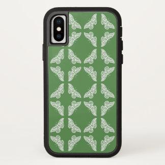 Capa Para iPhone X Borboletas verdes das artes e dos artesanatos do