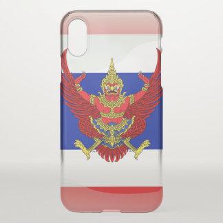 Capa Para iPhone X Braços do casaco de Tailândia