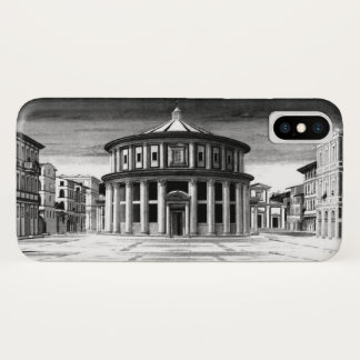 Capa Para iPhone X Branco IDEAL do preto da arquitetura do