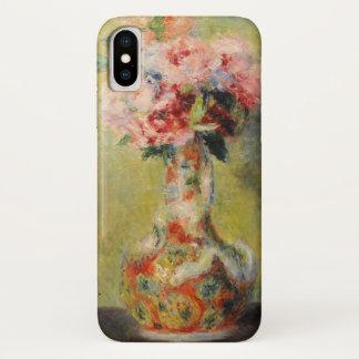 Capa Para iPhone X Buquê em um vaso por Renoir