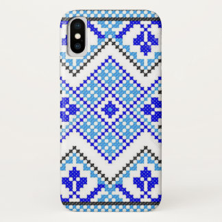 Capa Para iPhone X Caixa azul ucraniana da galáxia do iPhone do