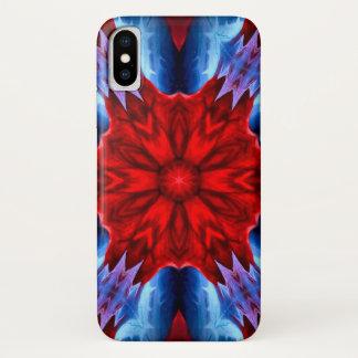Capa Para iPhone X Caixa da mandala da estrela do demónio de Lucifer
