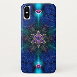 Capa Para iPhone X Caixa da mandala da estrela do demónio de Shiva