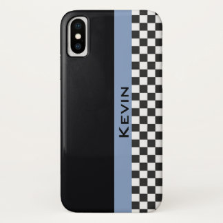 Capa Para iPhone X Caixa de competência azul do iPhone X do design da