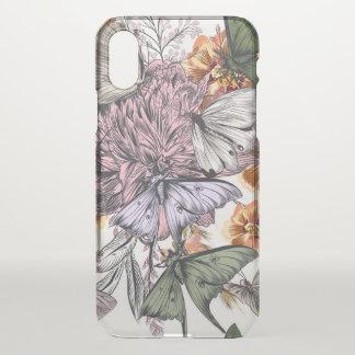 Capa Para iPhone X Caixa feita sob encomenda floral do defletor do