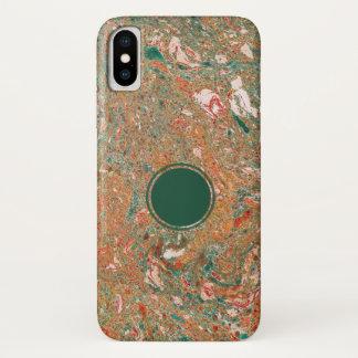 Capa Para iPhone X Caixa marmoreada do iPhone X de Apple