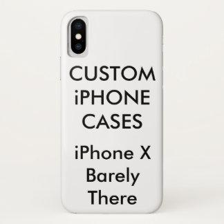 Capa Para iPhone X Caixa personalizada costume do iPhone X mal lá