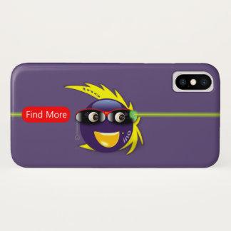 Capa Para iPhone X Caixa roxa do iPhone X da força de Ino AI (roxa)