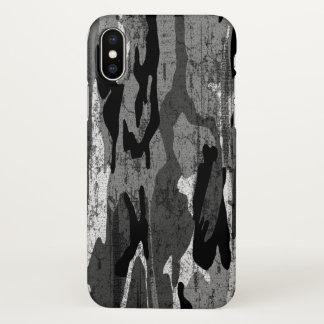 Capa Para iPhone X Camo ártico afligido